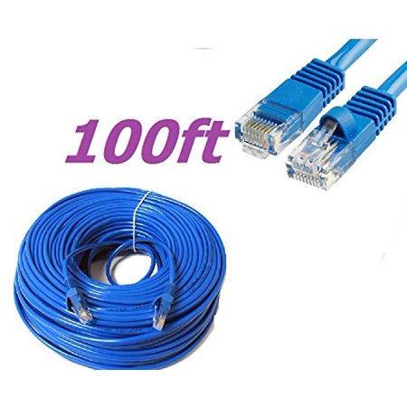 Cablevantage New 100ft 30m Cat5 Patch Cord Cable 500mhz