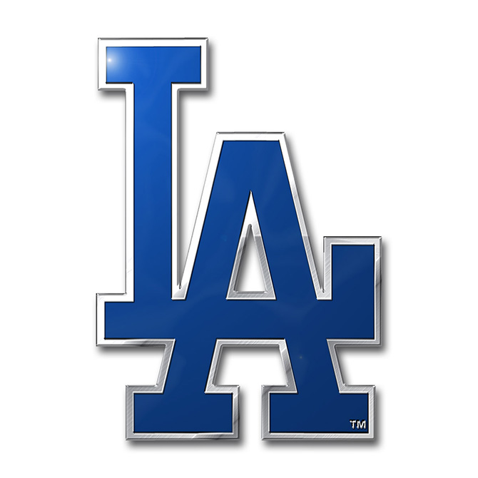 MLB Los Angeles Dodgers Color Emblem