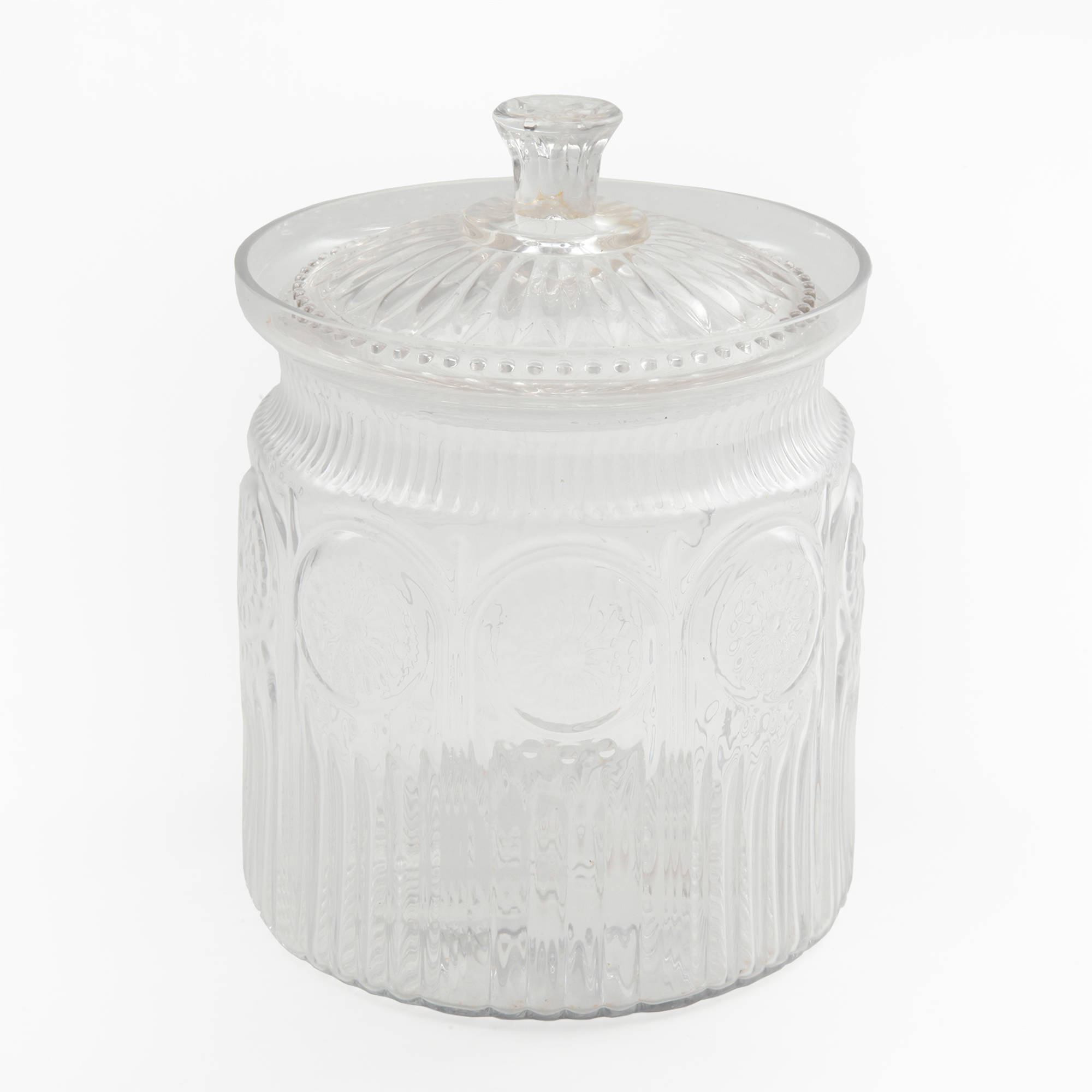 The Pioneer Woman Adeline Glass Cookie Jar Walmartcom
