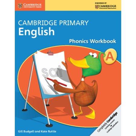 Cambridge Primary English Phonics Workbook A  Cambridge International Examinations   Paperback