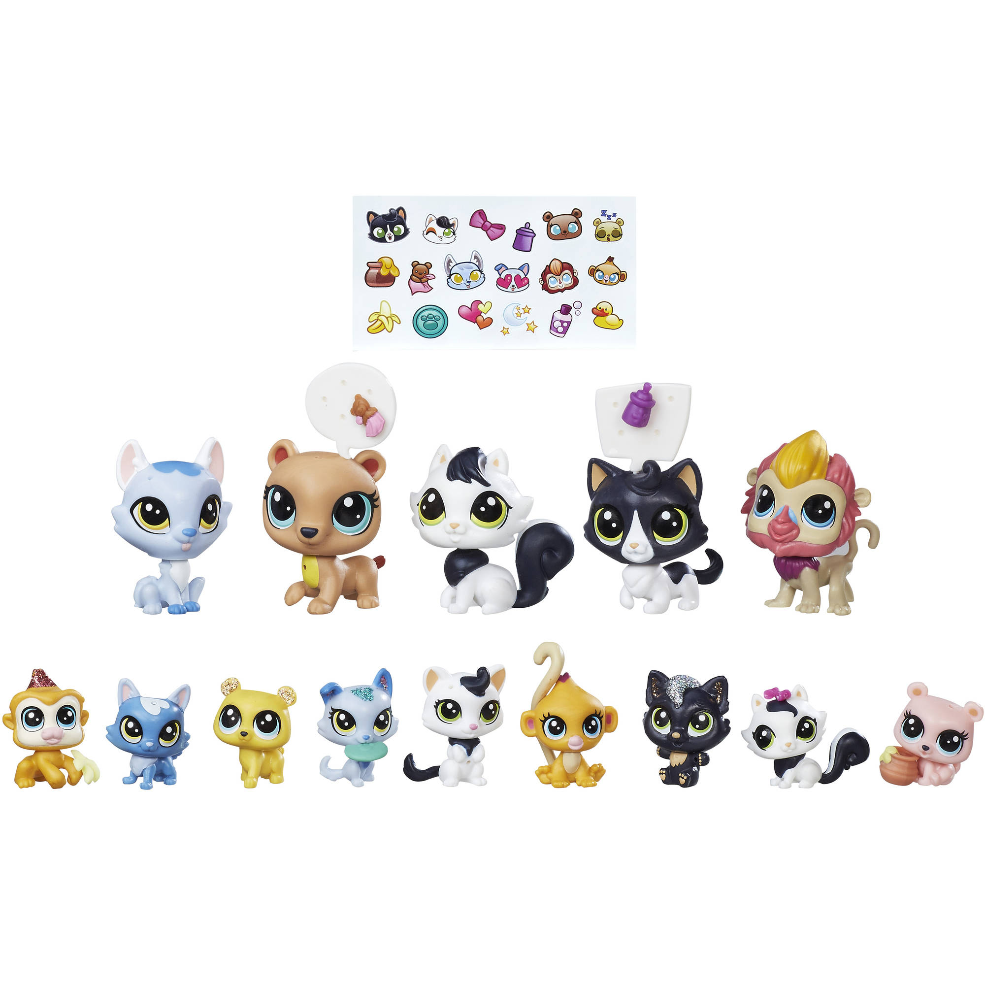 Littlest Pet Shop Family Pet Collection - Walmart.com