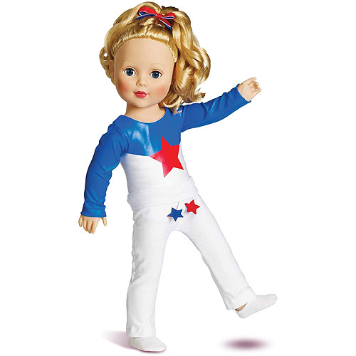 """My Life As Gymnast Dressed 18"""" Doll"""
