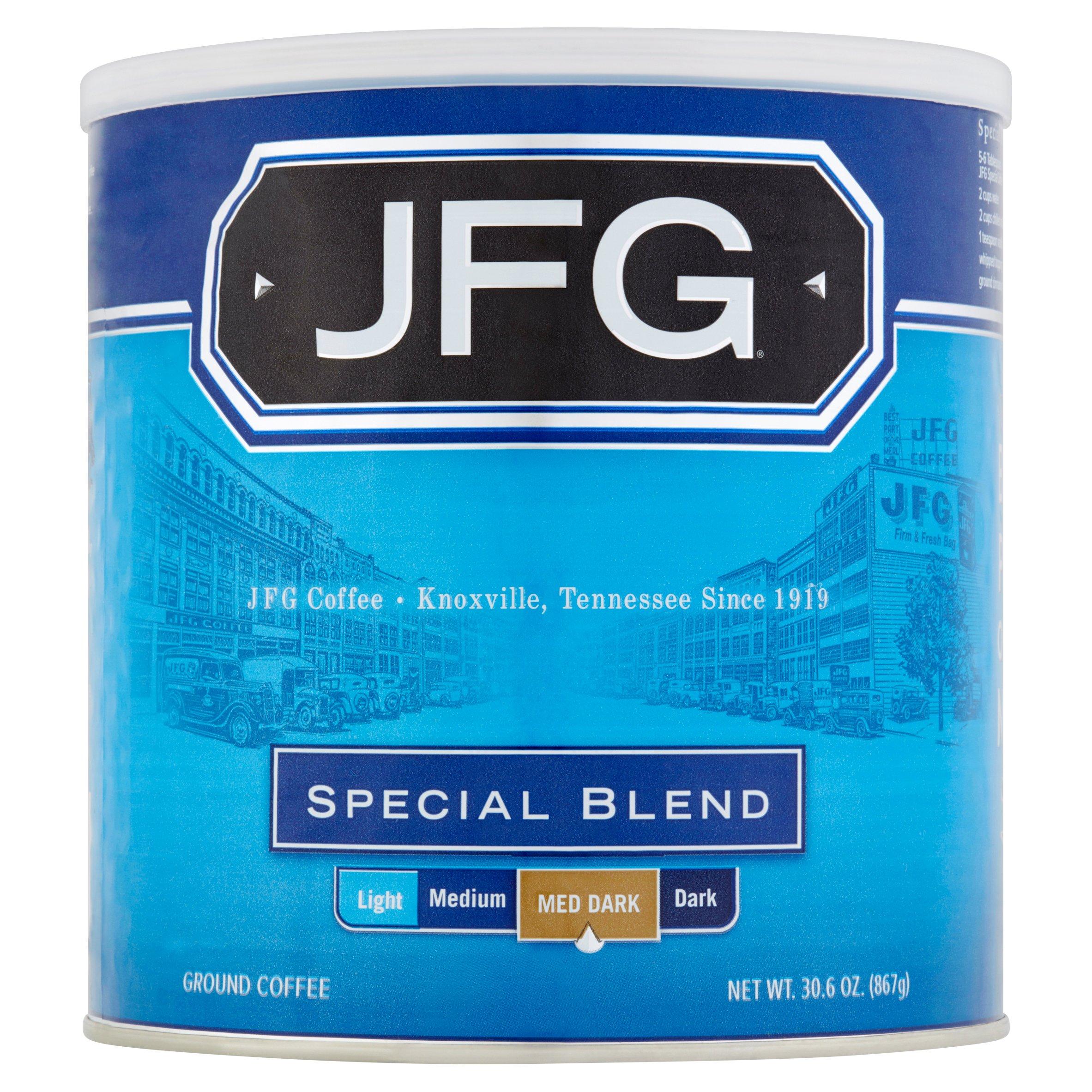 JFG Special Blend Ground Coffee, 30.6 oz