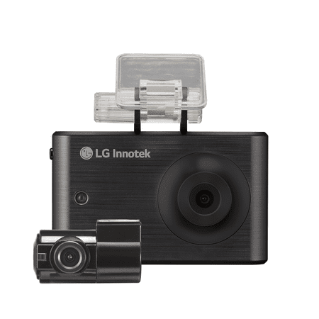 LG Dash Cam, 2 Channel Front & Rear High-Res Dashboard Camer