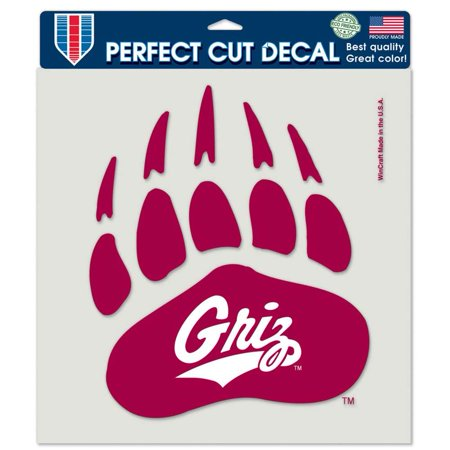 Montana Grizzlies Full Color Die Cut Decal - 8