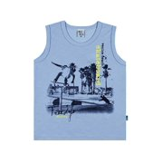 Boys Tank Top Kids Graphic Muscle Shirt Pulla Bulla Sizes 2-10 Years