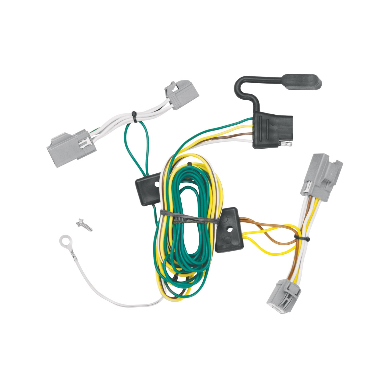 Tow Ready 118448 Wiring T-One Connector; 2 Wire System; Amp Rating 7.5;