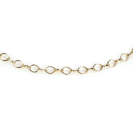 (Jewelry Designer: Figure 8 Chain, Bright Gold, 1 meter)