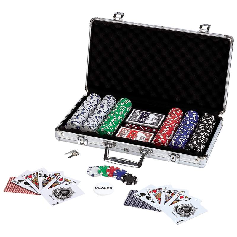 Maxam™ 309pc Poker Chip Set in Aluminum Case