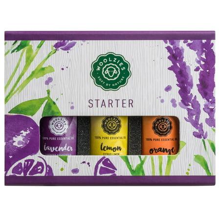 - Gift set of 3 essential oils, Starter set Lavender Lemon & orange 10ml each