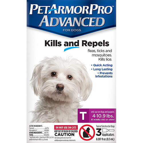 Pet Armor Pro Advanced KILLS AND REPELS T (4 - 10.9 Lbs)