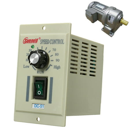 DC-51 1/3 phase AC 110V Motor Speed Control Controller Variable For DC 90V 400W (Ac Motor Control)