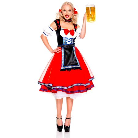 Adult Oktoberfest Beer Girl Costume