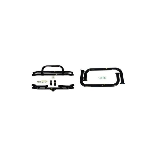 Rugged Ridge 11501 02 Bumper And Nerf Bar Kit For Jeep Cj5 Walmart Com Walmart Com