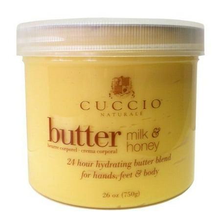 Cuccio Naturale Milk and Honey Butter Blend 26oz (750g) Cuccio Naturale Butter Blend