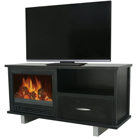 D;cor Flame Yosemite 52″ Media Fireplace, for TVs up to 60″, Black