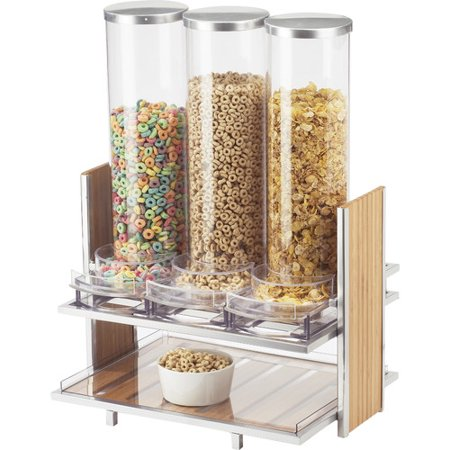Eco Collection Cereal - Cal-Mil Eco Modern 91 Oz. Triple Canister Cereal Dispenser