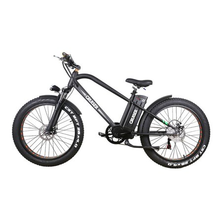 NAKTO Cruise 26inch 500W 48V 12A Fat Tire Electric Bicycle Super,