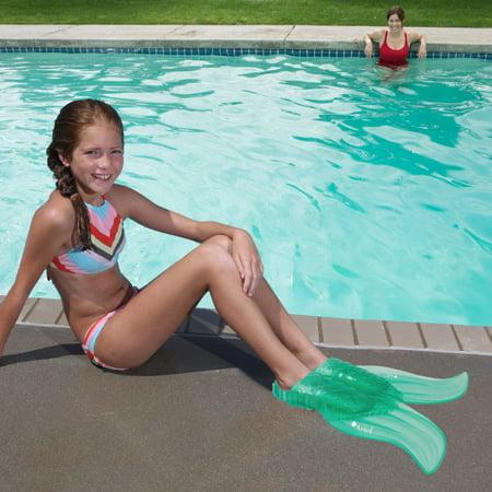 SwimWays Swim Fins Ariel Mermaid Tail