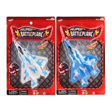 New 502812  7'' P / B Battleplane On Card(Solid Blue / White) (36-Pack) Action Cheap Wholesale Discount Bulk Toys Action - Halloweencostumes Com Discounts