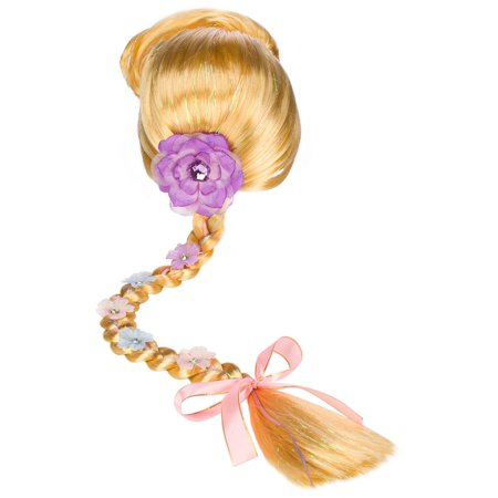 Disney Tangled Rapunzel Wig with Braid](Tangled Rapunzel Wig For Adults)