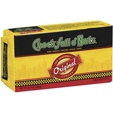 Chock full o'Nuts Original Ground Coffee, 11.3 oz Brick