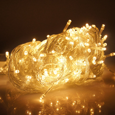 Hde Linkable Led String Lights Holiday Home Fairy Multifunction Wedding College Dorm Room Craft Decoration 10 Meter Expandable Rope 100 Micro Leds
