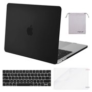 Mosiso MacBook Pro 13 Case 2019 2018 2017 2016 A2159/A1989/A1706/A1708 Plastic Hard Shell with Keyboard Cover Bag for Newest Macbook Pro 13 Inch