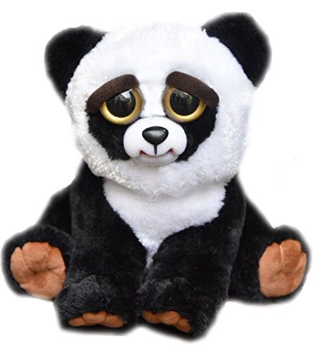 William Mark Feisty Pets Black Belt Bobby Plush Adorable Plush Stuffed Panda that Turns Feisty with a Squeeze by William Mark Corp