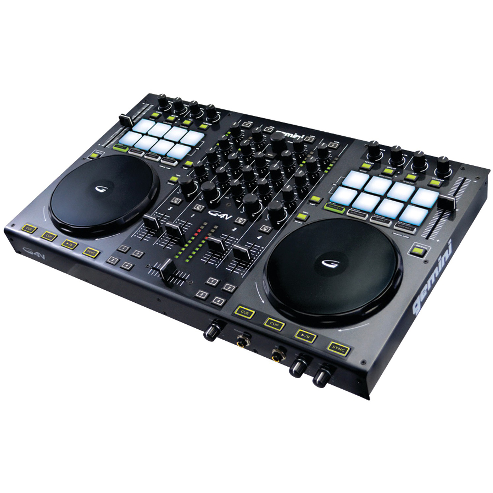 Gemini G4V 4-Channel Virtual DJ Controller