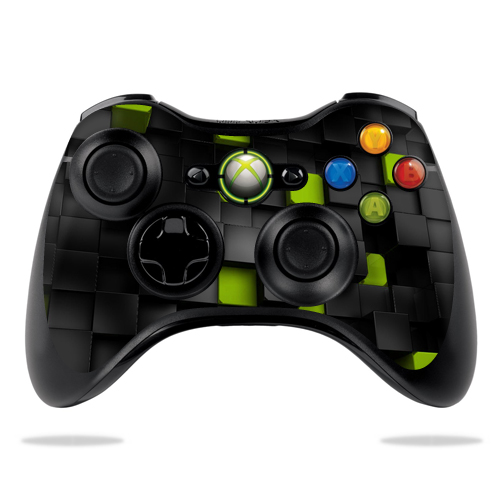 Protective Vinyl Skin Decal Cover for Microsoft Xbox 360 Controller wrap sticker skins Cubes