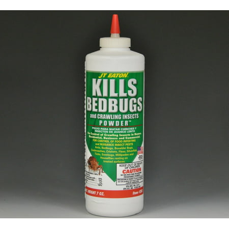 JT EatonTM Kills Bedbugs Powder, The powder can applied inside indoor cracks, around electrical outlets, inside walls, between carpet and the wall and around.., By J T (Home Remedies For Bed Bugs In Carpet)