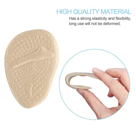 HURRISE 2 Pairs Anti-slip Ball of Foot Cushions for Women's High Heel Cushions and Comfort Size - image 1 of 8