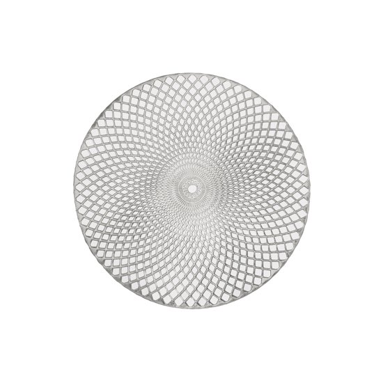 Holiday Decorative 15 Quot Round Vinyl Spiral Placemat Set Of