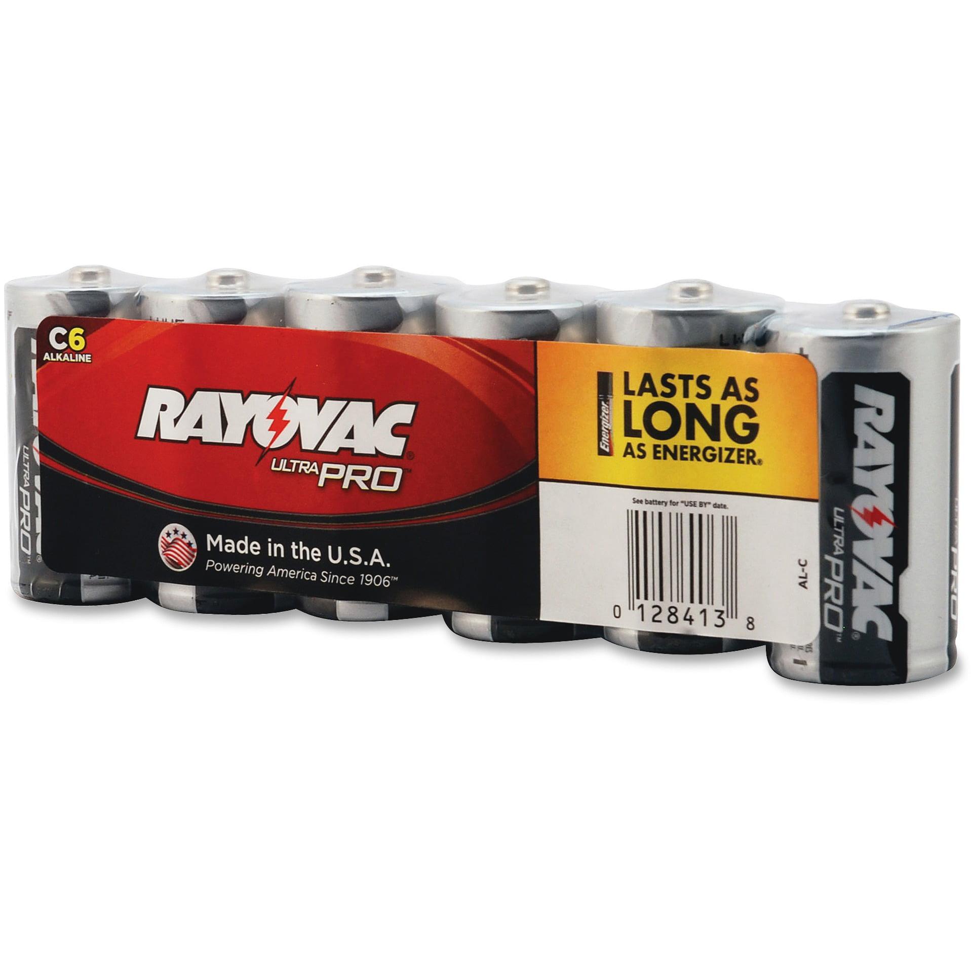 Rayovac Industrial Plus Batteries Alkaline C 1.5V 12PK/CT ALC6JCT