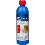 Adams Plus Flea and Tick Shampoo with Precor, 12 oz
