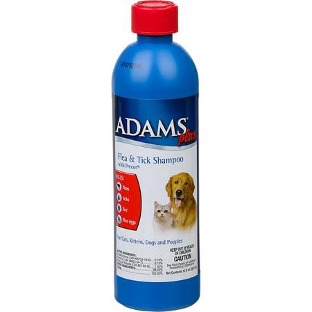 Adams Plus Flea And Tick Shampoo With Precor  12 Oz
