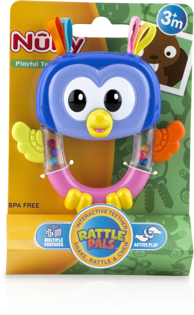 Nuby Rattle Pals Rattle by Nuby