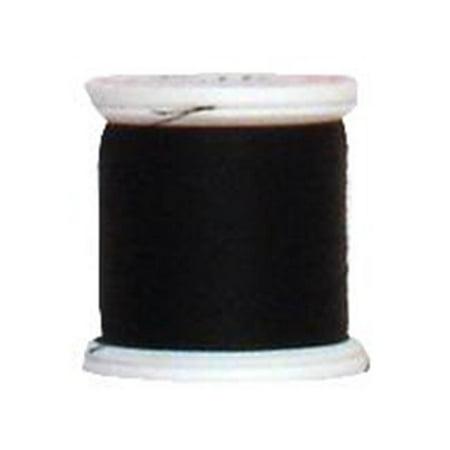 Yli Hand Quilting Thread (YLI Silk Thread #100 200M Black )