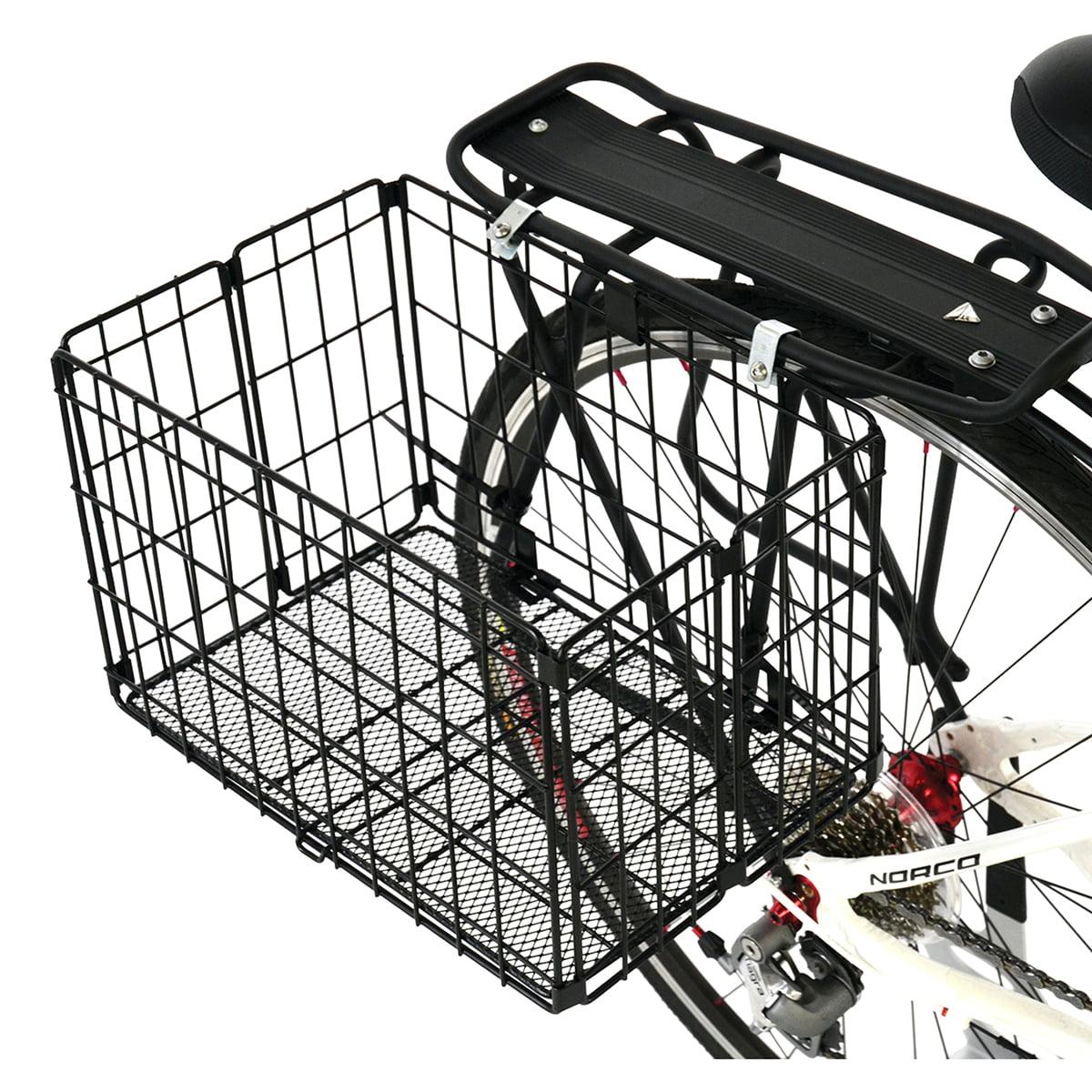 Axiom Rear Folding Wire Basket Standard Black