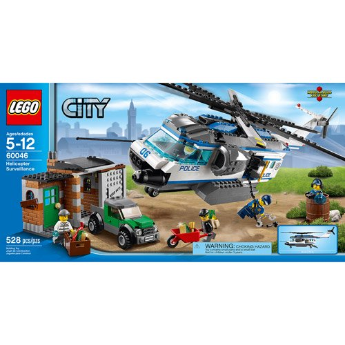 Lego City Police Helicopter Surveillance Building Set Walmart