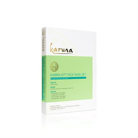 Karuna Karma Kit+ Face Mask Box, 4 Ct