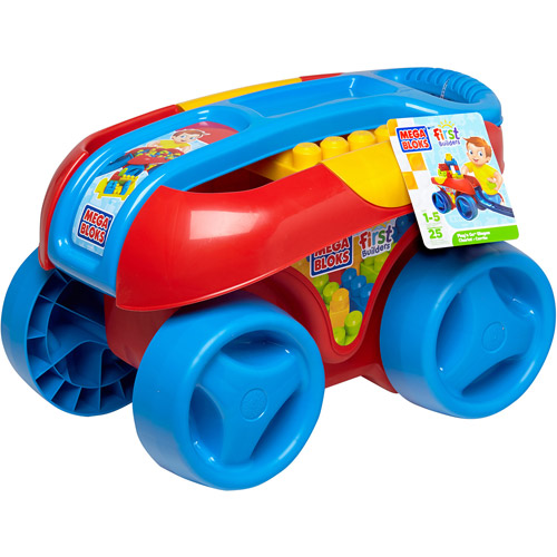 Mega Bloks First Builders Buildn Go Wagon (Classic) Multi-Colored by Mega Brands