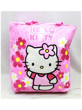 5c7064a9c17a Product Image Tote Bag - Hello Kitty - Flowers Pink New Gifts Girls Hand  Purse 82589
