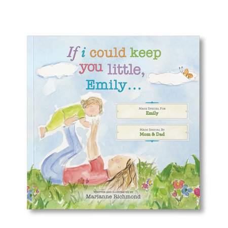 If I Could Keep You Little … - Personalized Book - Personalized Boots