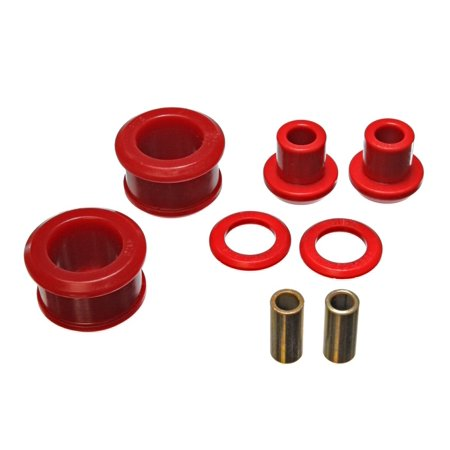 Energy Suspension 90-96 Nissan 300ZX Red Rear Differential Carrier Bushing Set (Must reuse all metal (Rear Differential Carrier)