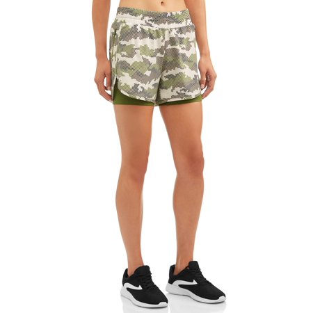 Women's Active Printed Running Shorts