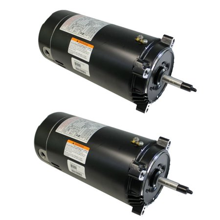 A.O. Smith UST1102 1 Hp Swimming Pool/Spa Replacement Motor C-Flange (2 (Smith Motor 1 Hp Pool)