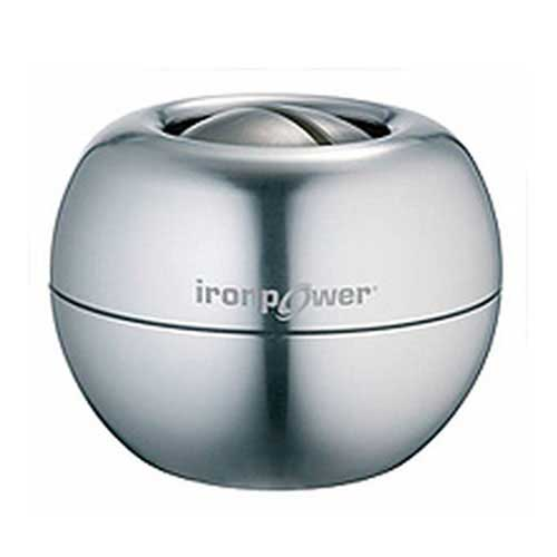 DFX Sports & Fitness - Iron Power Gyro Exerciser with Case Silver