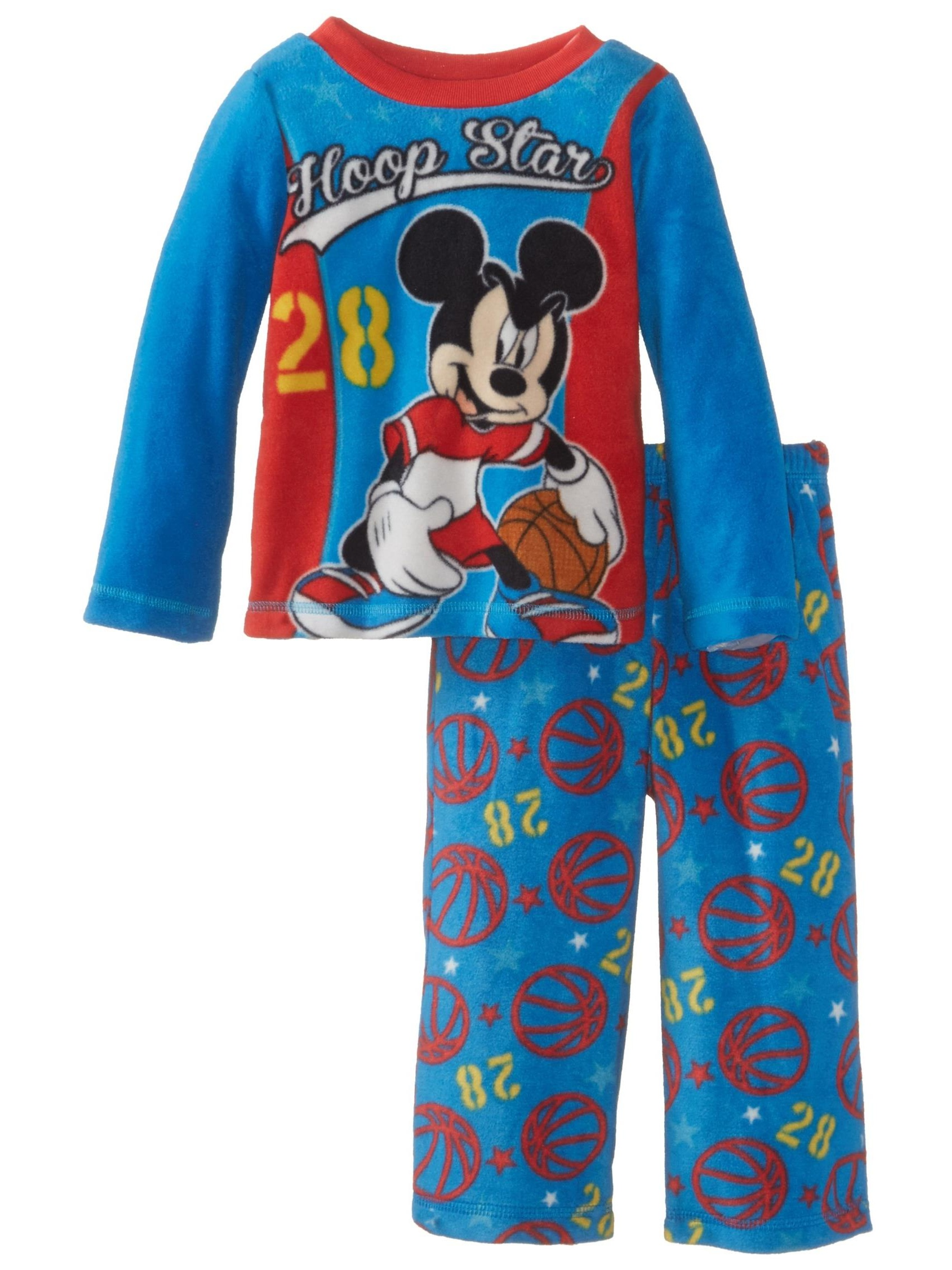 Boys Disney Pajamas Mickey Mouse Blue Sizes 2T 3T /& 4T